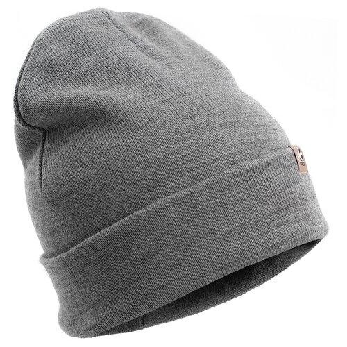 Шапка трикотажная Watch Cap серый (Баск) универсальный размер