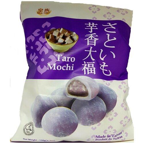 Десерт рисовое Моти Royal Family Taro Mochi с бататом, 120г.