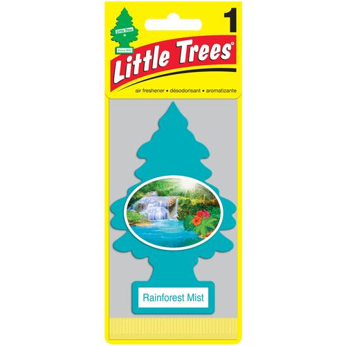 Фото - Little Trees Ароматизатор для автомобиля Ёлочка Тропический туман (Rainforest Mist) 12 г luazon ароматизатор для автомобиля яркий сочный тропический