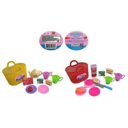 Фото - Набор продуктов с посудой ABtoys Помогаю маме PT-00336 набор продуктов с посудой abtoys помогаю маме pt 00395 разноцветный