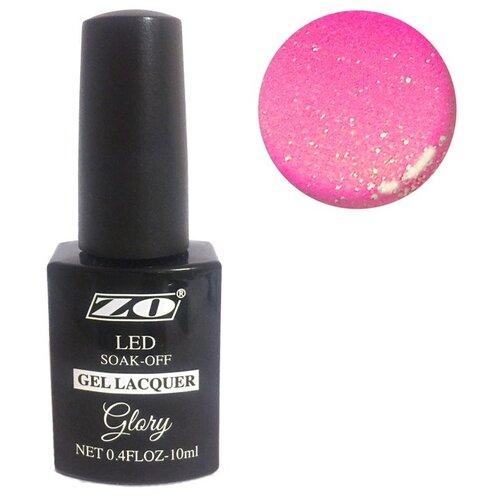 Купить Гель-лак для ногтей ZO Glory, 10 мл, 133 малиновый шиммер