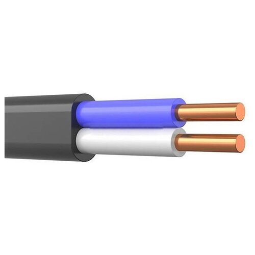 Фото - Кабель силовой ВВГ-Пнг(А) 2х1.5 кв. мм ПАРТНЕР ЭЛЕКТРО ГОСТ черный 5 м катушка кабель партнер электро ввг пнг а 3х2 5 гост 50м