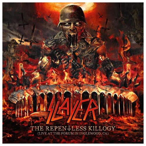Slayer – The Repentless Killogy: Live At The Forum In Inglewood, CA (2 CD) макс бойс max boyce live at treorchy we all had doctors papers 2 cd