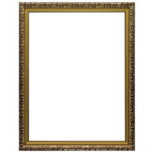 Купить Рама багетная для картины на подрамнике 30х40, VRBZ3019/коричневый, LaKarti, Рамки