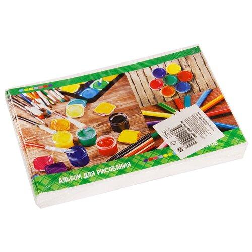 Купить Набор альбомов для рисования ArtSpace Яркие краски 29 х 20, 2 см, 100 г/м², 16 л. (10шт.), Альбомы для рисования