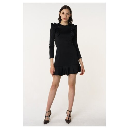 Платье Scotch & Soda 133.18FWLM.0988148443.08 женское Цвет Черный Однотонный р-р 44 S