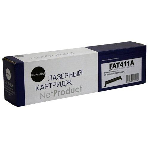 Фото - Картридж Net Product N-KX-FAT411A, совместимый картридж nv print kx fat411a kx fat411a kx fat411a kx fat411a для для panasonic kx fa t 411a 2000стр черный