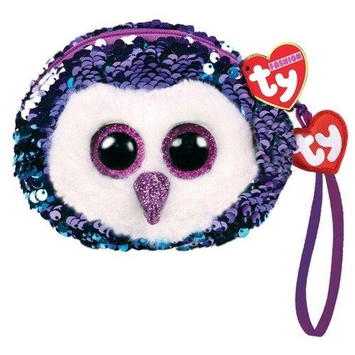 Кошелек TY Moonlight голубой/фиолетовый