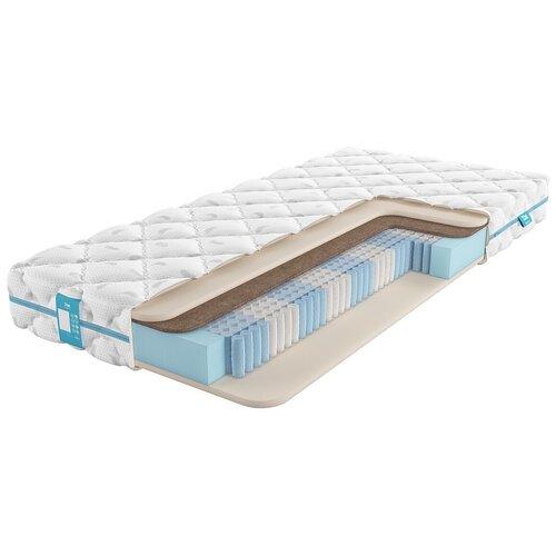 Матрас Промтекс-Ориент Soft Стандарт бикокос 1, 160x200 см, пружинный матрас промтекс ориент soft стандарт бикокос 1 110x190 см пружинный