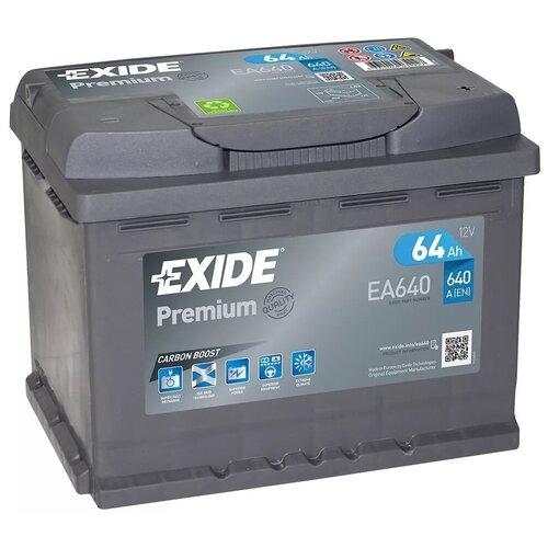 Автомобильный аккумулятор Exide Premium EA640