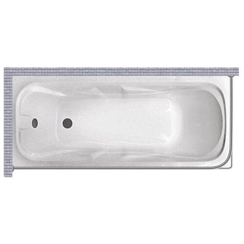 """Карниз для ванной (Штанга) """"усиленный 20"""" Triton стандарт 170x70 Г-образный, угловой"""