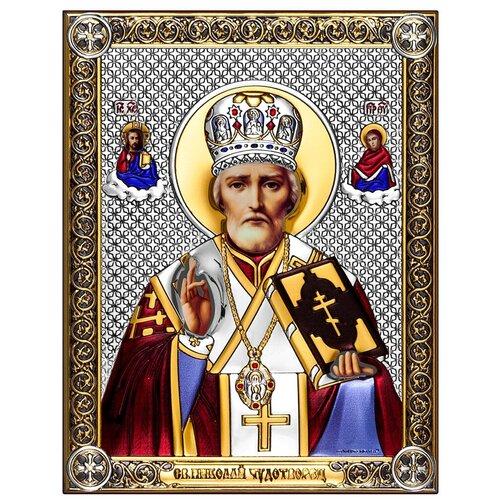 Икона Николай Чудотворец 6421/CPM, 14х18 см
