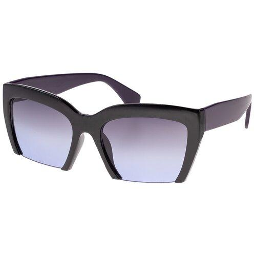 солнцезащитные очки Солнцезащитные очки женские/Очки солнцезащитные женские/Солнечные очки женские/Очки солнечные женские/21kdglan1005239c6vr черный,синий/Vittorio Richi/Вайфареры/Клабмастер/модные