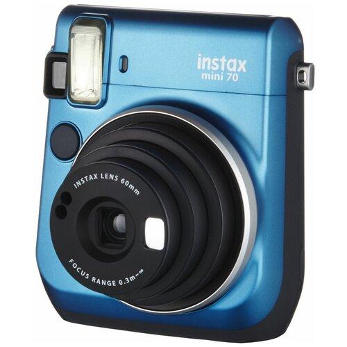 Фото - Фотоаппарат моментальной печати Fujifilm Instax Mini 70, blue фотоаппарат моментальной печати fujifilm instax mini liplay elegant stone white bundle