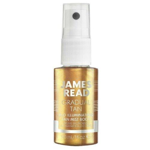 JAMES READ Спрей для тела H2O illuminating body mist (30 мл)
