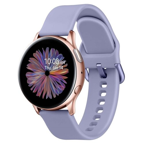 Умные часы Samsung Galaxy Watch Active2 алюминий 40мм, лаванда умные часы samsung galaxy watch active2 алюминий 40мм ваниль
