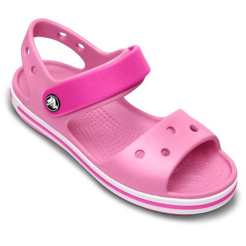 Сандалии Crocs Crocband размер 21(С4), Party Pink/Candy Pink шлепанцы crocs crocband flip размер 36 37 m4 w6 navy