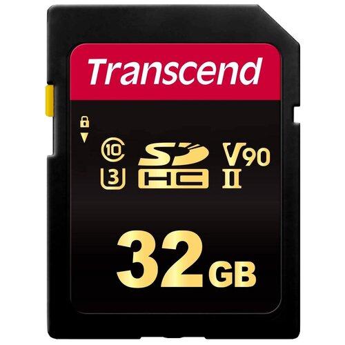 Фото - Карта памяти Transcend TS*SDC700S 32 GB, чтение: 285 MB/s, запись: 180 MB/s карта памяти transcend 32gb 700s sdhc uhs ii u3 v90 285 180 mb s