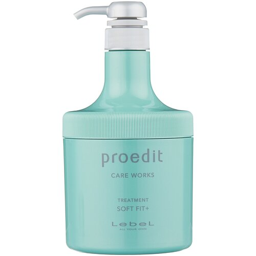 Lebel Cosmetics Маска интенсивно увлажняющая для очень сухих волос Proedit Hair Treatment Soft Fit Plus, 600 мл