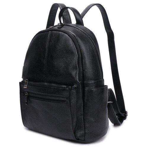 Сумка-рюкзак OrsOro, искусственная кожа, черный