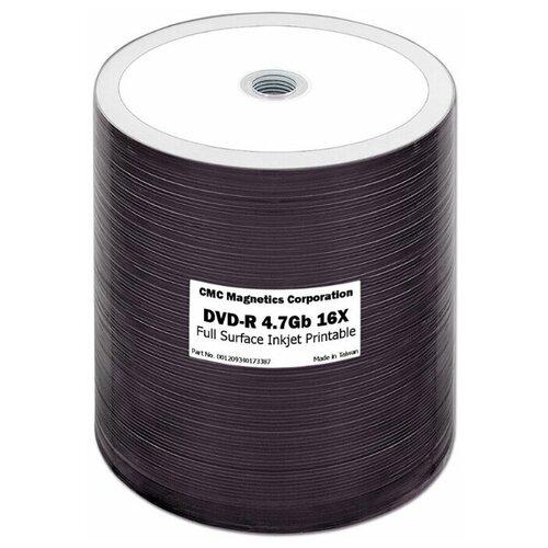 Диск DVD-R CMC 4.7 Gb 16x 100 шт bulk