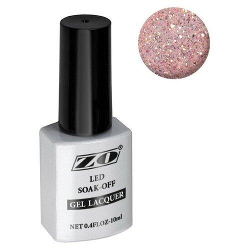 Купить Гель-лак для ногтей ZO mGL, 10 мл, 197 бледно-розовый шиммер