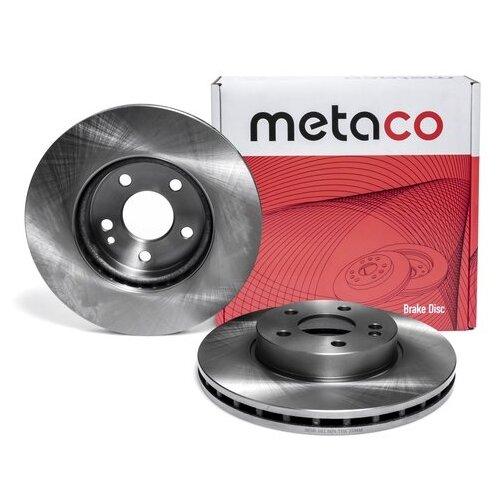 Диск тормозной передний вентилируемый (Производитель: METACO 3050101)