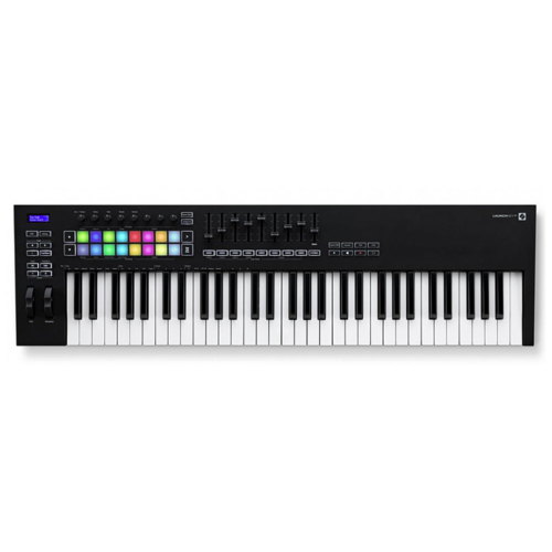 MIDI-клавиатура Novation Launchkey 61 MK3 черный