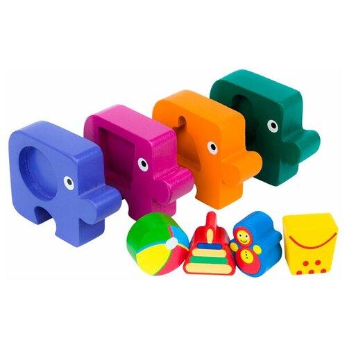 Фото - Набор рамок-вкладышей Step puzzle Baby Step Подбираем фигуры Игрушки (89026) step puzzle книжки игрушки умный паровозик игровой комплект 3