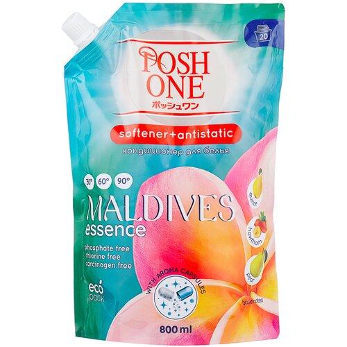 Posh One Кондиционер для белья Maldives Essence, 0.8 л desert essence кондиционер для