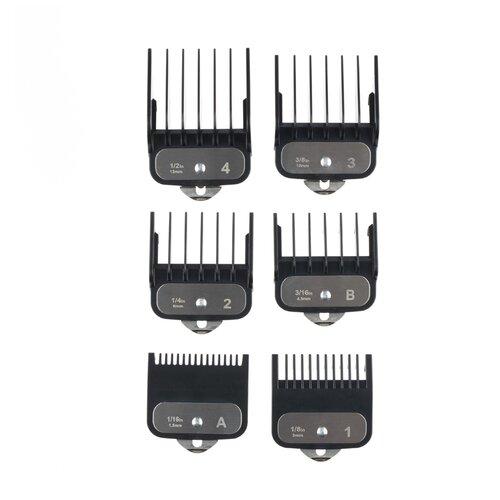 Насадки для 03-080 (1.5 мм; 3 мм; 4,5 мм; 6 мм; 10 мм; 13 мм) DEWAL MR-N-080