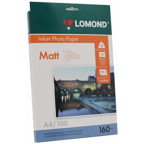 Фото - Бумага Lomond A4 Photo Paper 0102005 160 г/м² 100 лист., белый бумага lomond a4 photo paper 0102003 120 г м² 100 лист белый