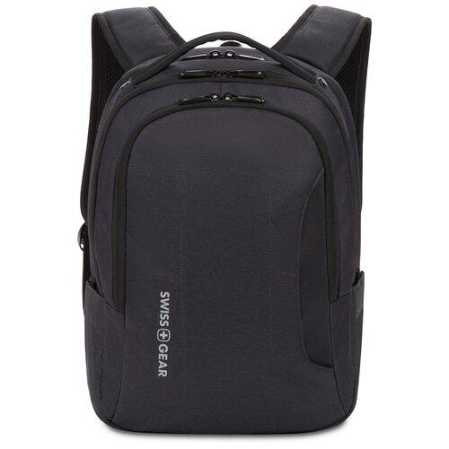 Фото - Рюкзак SWISSGEAR, черный, полиэстер, 29 х 15 х 42,5 см, 18,5 л рюкзак swissgear 32x15x46 см 22 л черный