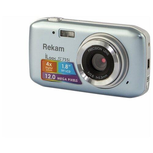 Фото - Фотоаппарат Rekam iLook S755i metallic gray rekam ru 43g золотой