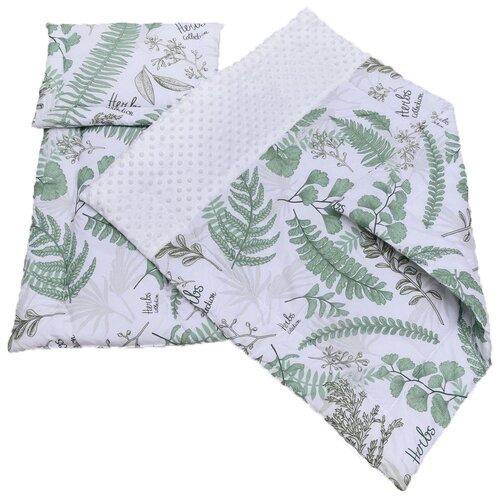 Комплект Amarobaby Exclusive Soft Collection папоротники amarobaby комплект в кроватку exclusive soft collection папоротники 7 предметов белый зеленый