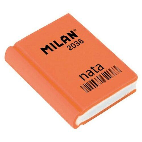 Купить Ластик пластиковый Milan 2036 в форме книжки, цв. в ассорт 5 штук, Ластики
