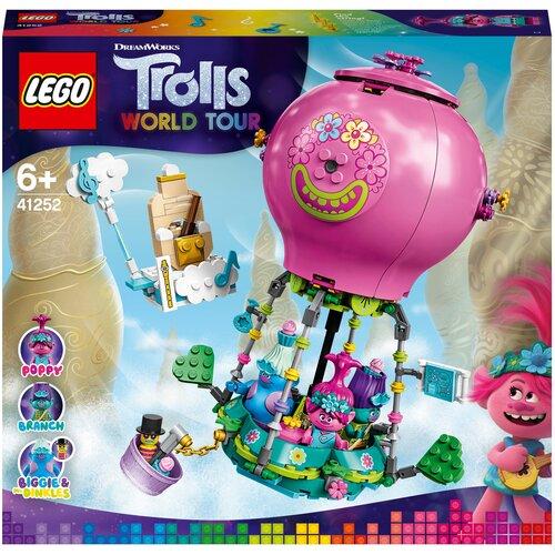 Купить Конструктор LEGO Trolls World Tour 41252 Путешествие Розочки на воздушном шаре, Конструкторы
