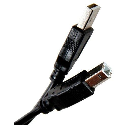 Кабель TV-COM USB-A - USB-B (USB100G) 1.8 м, черный