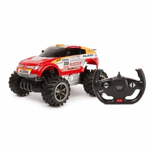 Купить Машина Rastar РУ 1:18 Pajero Красная 20100, Радиоуправляемые игрушки