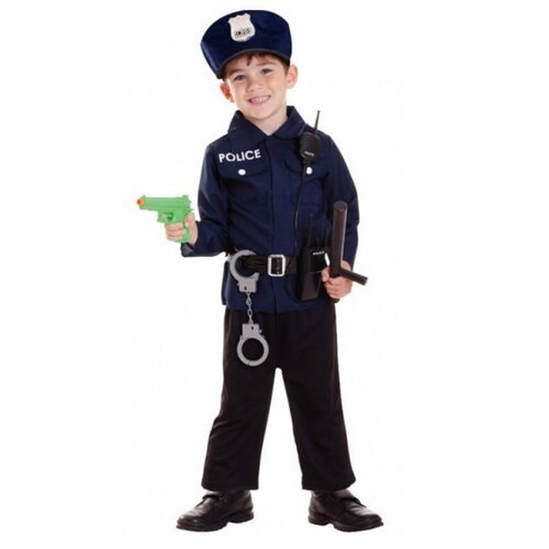 Купить Набор полицейского, 98-116 см., amscan, Полицейские и шпионы