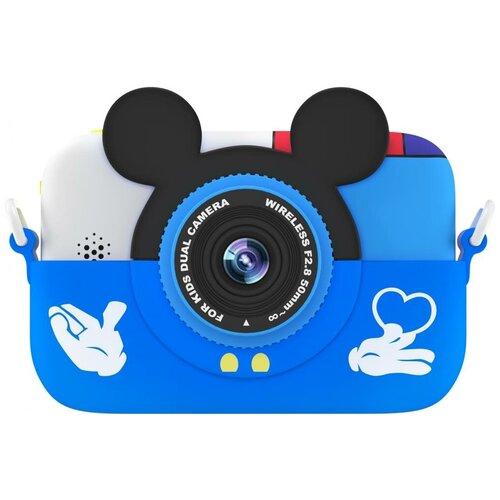 Фото - Фотоаппарат GSMIN Fun Camera Memory с играми синий фотоаппарат gsmin fun camera rabbit со встроенной памятью и играми голубой