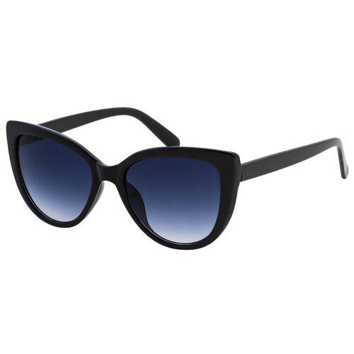 солнцезащитные очки Солнцезащитные очки женские/Очки солнцезащитные женские/Солнечные очки женские/Очки солнечные женские/21kdglan905328c1vr черный,синий/Vittorio Richi/Кошачий глаз/модные