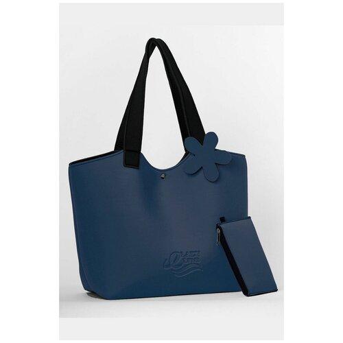 Летняя сумка на кнопке, Etna, , черный, полиуретан