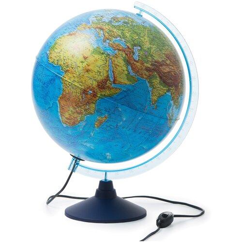 Фото - Глобус Земли Classic физико-политический с подсветкой d=32 см глобус globen глобен d 210мм серия классик политический с подсветкой