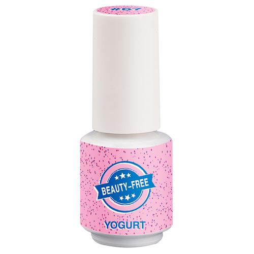 Фото - Гель-лак для ногтей Beauty-Free Yogurt, 4 мл, розовый гель лак для ногтей beauty free winter sweet 4 мл оттенок пурпурно розовый