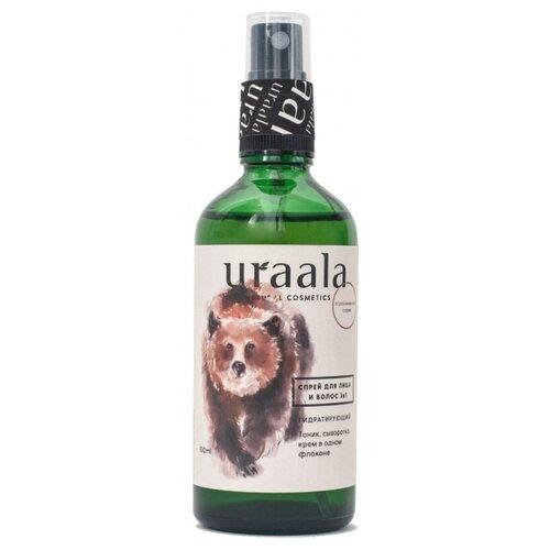 Купить Ura'ala Cпрей гидратирующий для лица и волос 3 в 1, 100 мл