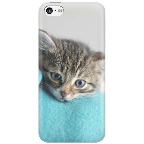 Cиликоновый чехол на Apple iPhone 5c / Эпл Айфон 5С с принтом