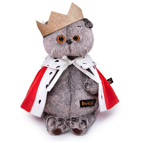 Budi Basa Мягкая игрушка Кот Басик - Царь, 30 см