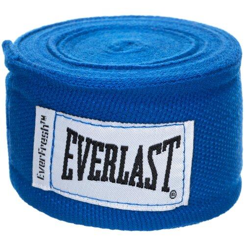 Кистевые бинты Everlast 4464 3,5 м синий