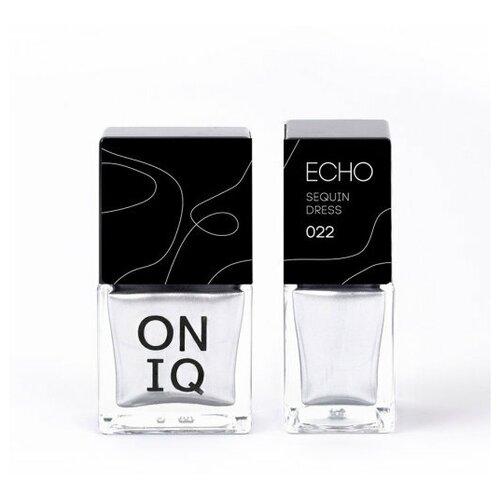 Профессиональный лак для стемпинга с блестками, шиммером. 022 Echo: Sequin Dress, 10 мл